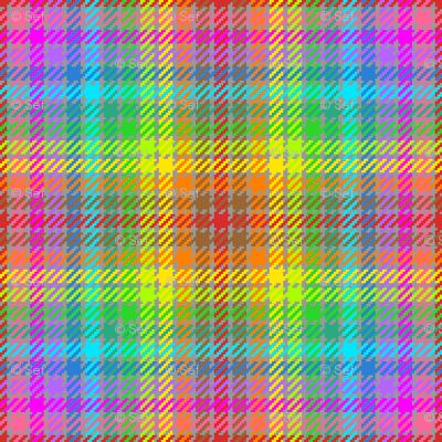 tartan (13) to match coloured pencils