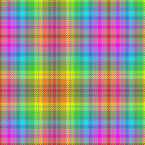 tartan (13) to match coloured pencils fabric by sef on Spoonflower - custom fabric