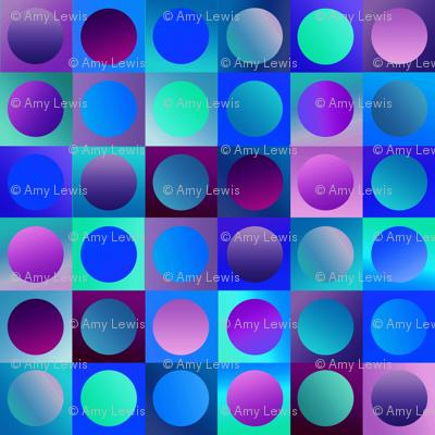 blue gelatine