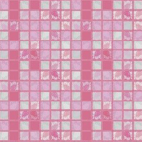 Pink Textured Tile © Gingezel™ 2012