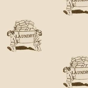 vintage laundry helpers