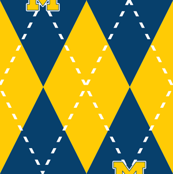 Argyle Blue and Maize