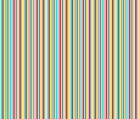 Cupcakes and Swirls Collection - Rainbow Stripes by JoyfulRose fabric by joyfulrose on Spoonflower - custom fabric