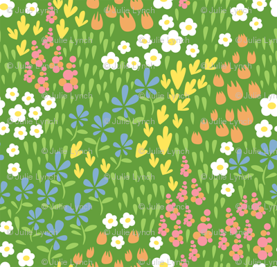 spring field designs green