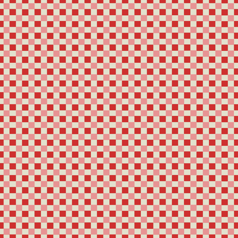 Petit_Check_pink fabric by hoodiecrescent&stars on Spoonflower - custom fabric