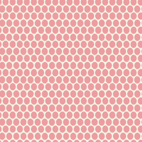 Egg Dot / Pink fabric by hoodiecrescent&stars on Spoonflower - custom fabric