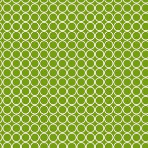 Hoop Dot / Lime