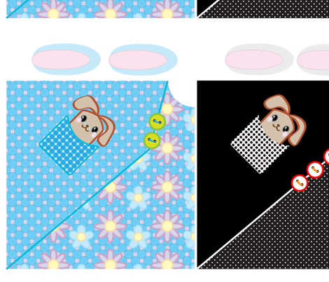 Bunny Blankets fabric by bbsforbabies on Spoonflower - custom fabric