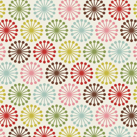 Cheer_Wheel_cream fabric by hoodiecrescent&stars on Spoonflower - custom fabric