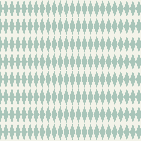 Diamond_check_aqua fabric by hoodiecrescent&stars on Spoonflower - custom fabric