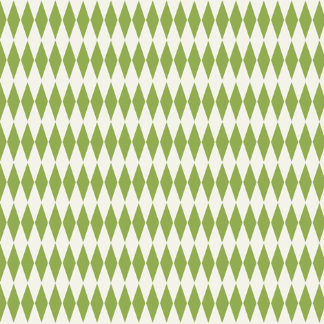 Diamond_check__Lime fabric by hoodiecrescent&stars on Spoonflower - custom fabric