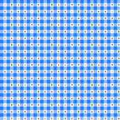 Blue Marios 1/2 inch gingham