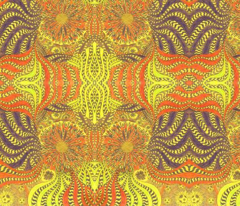 SunDaisy fabric by deborah_palmarini on Spoonflower - custom fabric