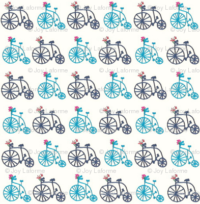 Bicycles in Blues