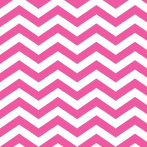 Chevron in Bubblegum Pink