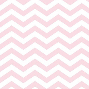 Chevron in Blush Pink