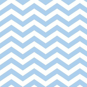 Chevron in Cornflower Blue