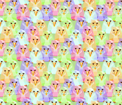 Penguin Drops fabric by glimmericks on Spoonflower - custom fabric
