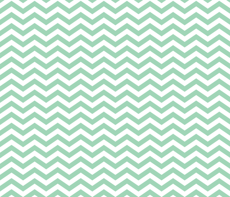 Chevron in Jade