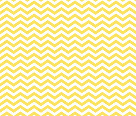 Chevron in Lemon Yellow