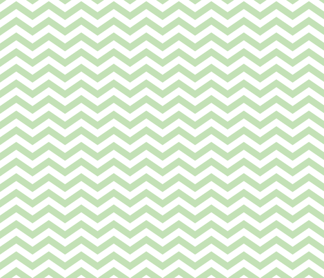 Chevron in Mint fabric by jessicabonilla on Spoonflower - custom fabric