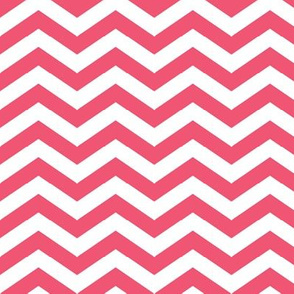 Chevron in Strawberry