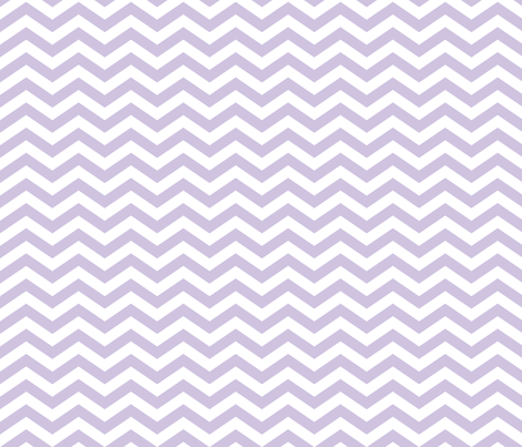 Chevron in Wisteria