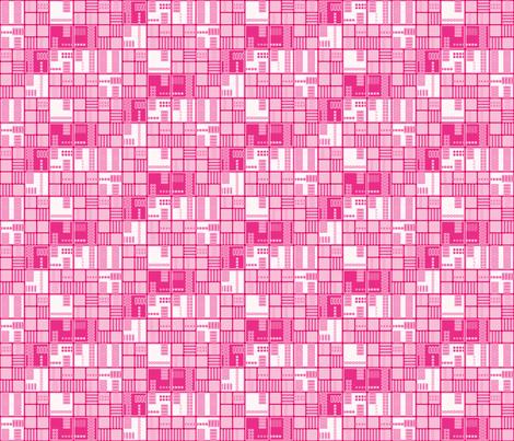 Pink Urban Grid © Gingezel™ 2012
