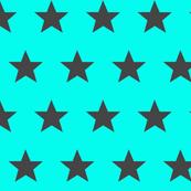 star aqua grey