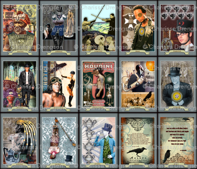 Men of Tarot - Prayer Flag Collection