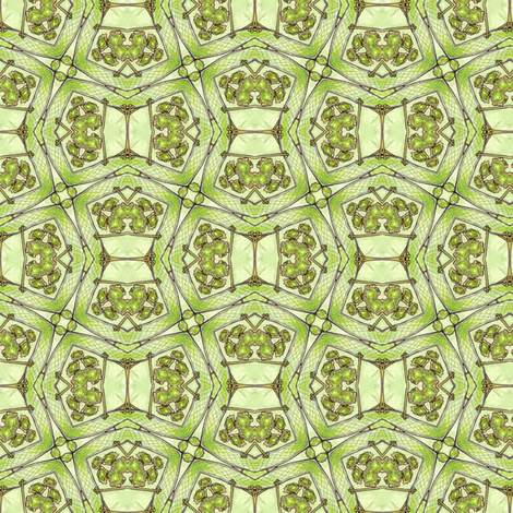 Beheiban's Puzzle fabric by siya on Spoonflower - custom fabric