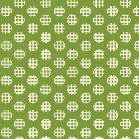 Waffle_Lime fabric by hoodiecrescent&stars on Spoonflower - custom fabric
