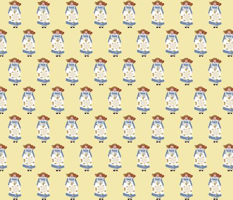 An Alice in Wonderland Frock fabric by karenharveycox on Spoonflower - custom fabric