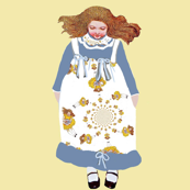 An Alice in Wonderland Frock