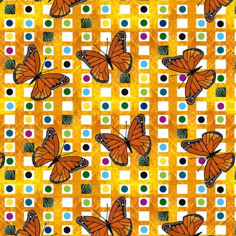 Urban butterfly  fabric by paragonstudios on Spoonflower - custom fabric