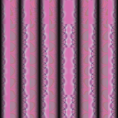 Pink Sculpted Textured Stripes © Gingezel™ 2012