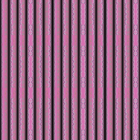 Pink Sculpted Textured Stripes © Gingezel™ 2012 fabric by gingezel on Spoonflower - custom fabric