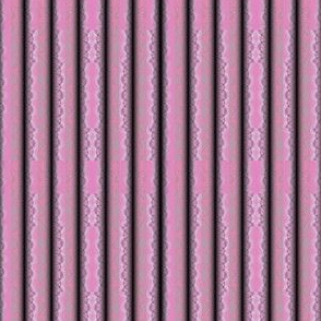 Pink Sculpted Textured Stripes © Gingezel™ 2012
