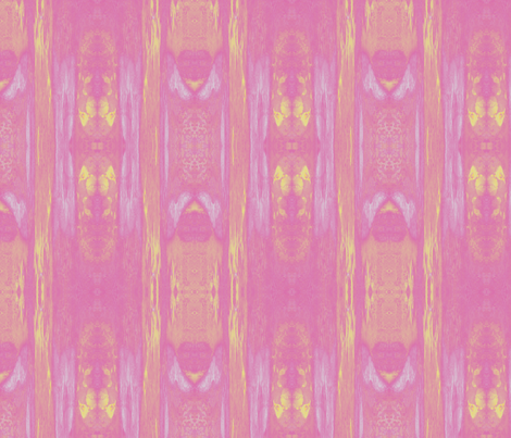 Pink and Yellow Abstract © Gingezel™ 2012 fabric by gingezel on Spoonflower - custom fabric