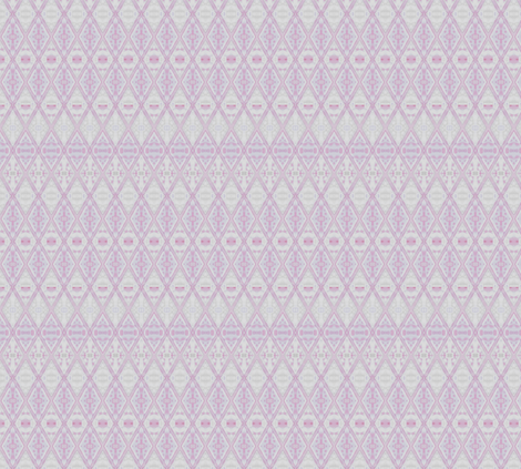 Pastel Pink Diamonds Geometric © Gingezel 2012 fabric by gingezel on Spoonflower - custom fabric
