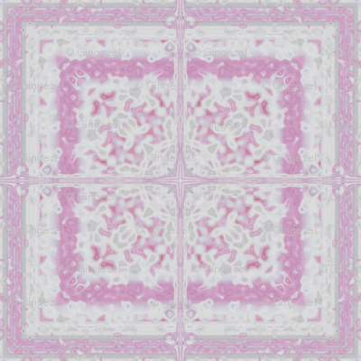 Lacy Pink Tile © Gingezel 2012