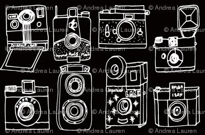 Vintage Cameras - B&W