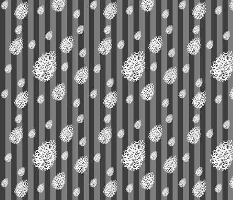 Snow Drops fabric by conteximus on Spoonflower - custom fabric