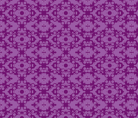 ©2011 Grape Soda fabric by glimmericks on Spoonflower - custom fabric