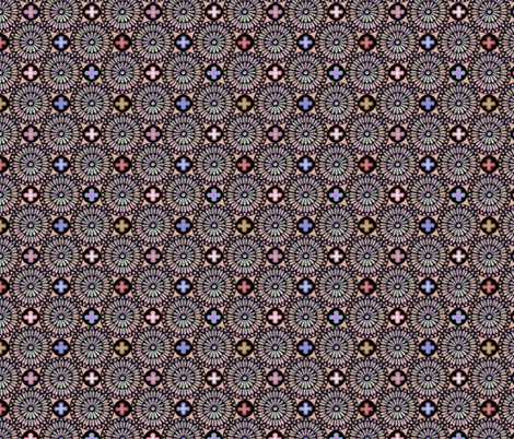 ©2011 the rose window - blossom fabric by glimmericks on Spoonflower - custom fabric