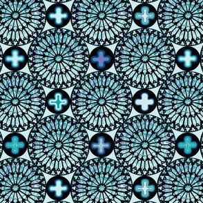 ©2011 the rose window - aquamarine
