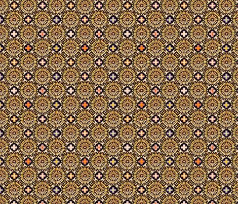©2011 the rose window - deus lux fabric by glimmericks on Spoonflower - custom fabric