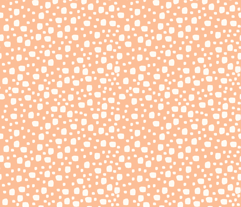 Rocks (peach) fabric by mondaland on Spoonflower - custom fabric
