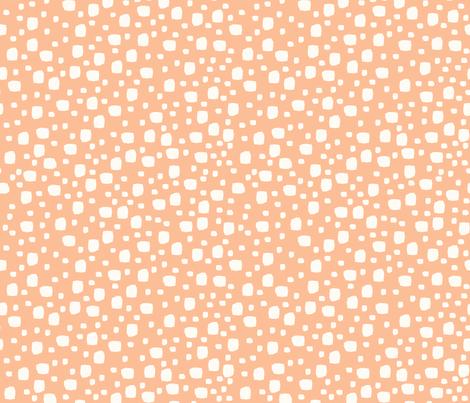 Rocks (peach) fabric by mondaland on Spoonflower - custom fabric