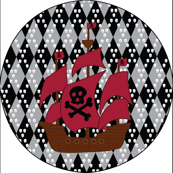 5x5-WallDecal-ship pirate